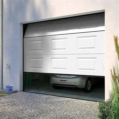 porte de garage basculante hormann pleine en acier