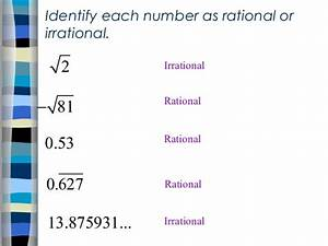 1 2 Irrational Numbers Ppt