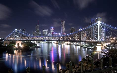 Story Bridge City Queensland-to-over-the-night-australia