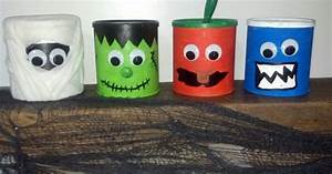 Halloween Store Wuppertal : halloween decorations made from formula cans halloween crafts pinterest decoration craft ~ Buech-reservation.com Haus und Dekorationen