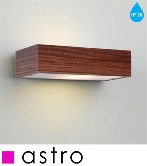 astro manerbio ip20 interior wall light walnut finish 0400 from easy lighting