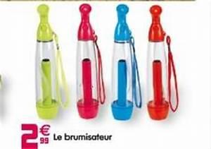 Brumisateur Pas Cher : brumisateur rechargeable chez gifi promotion ~ Edinachiropracticcenter.com Idées de Décoration