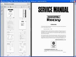 Daihatsu Rocky  F300  Service Manual