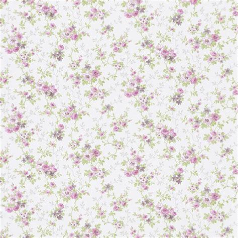 vintage tapete blumen tapete blumen rosa gr 252 n metallic rasch textil tapeten fleur 3 285139