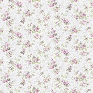 tapete blumen rosa grun metallic rasch textil tapeten With markise balkon mit tapete mint rosa