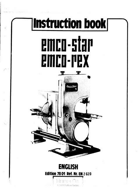emco star manualpdf woodwork   manual  stars