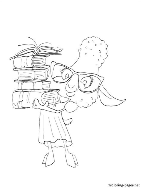 bellwether sheep zootopia coloring pages