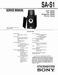Sony Speaker Sa