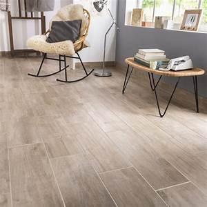 Carrelage Clipsable Exterieur : carrelage sol et mur naturel effet bois oural x ~ Premium-room.com Idées de Décoration