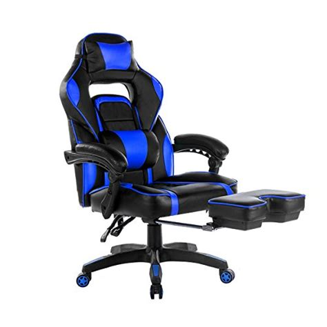 merax high back racing home office ergonomic gaming chair with footrest overwatch merchant