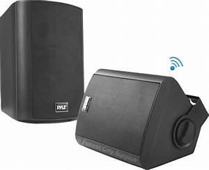 Pyle U00ae Pdwr52btbk Waterproof Bluetooth Wall Mount Outdoor