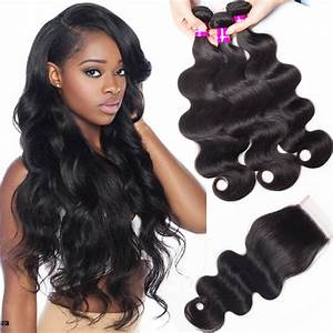 Malaysian Body Wave Hair 3 Bundles With Closure | Tinashehair