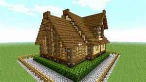 Rudi, Blog, Cool, Minecraft, Wooden, House, Designs