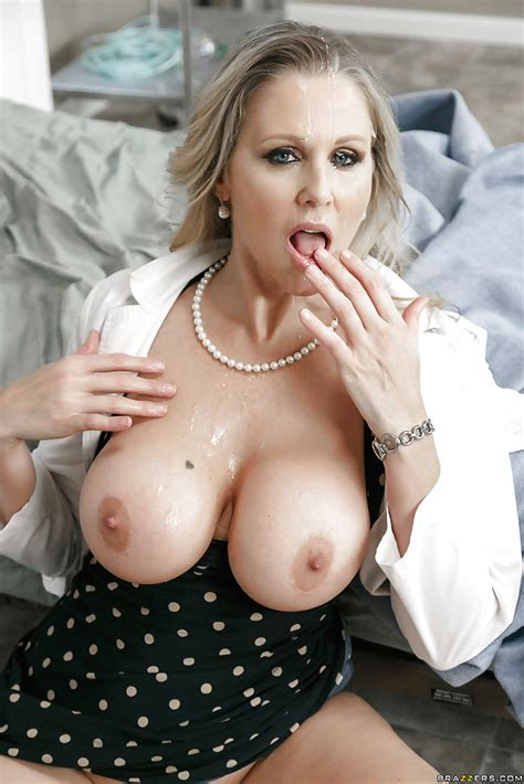 Mature Blonde Cougar Julia Ann Taking Hardcore Sex In