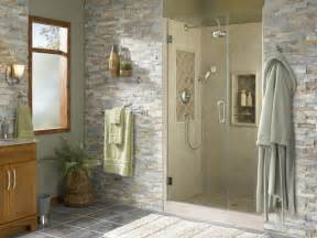 Best Plants For Bathroom No Window by Shower Alcove With Natural Accents Tropical Bathroom