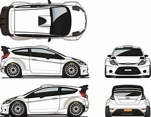 Ford Fiesta RS WRC Blueprint Database Pinterest