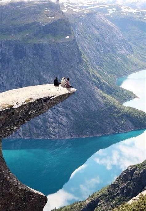 Lets Go To Norway On The Edge Trolltunga Norway