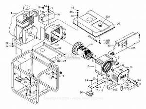 Powermate Formerly Coleman Pm0524302 Parts Diagram For