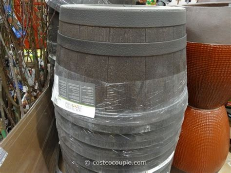 Southern Patio 25-inch Whiskey Barrel High Density Resin
