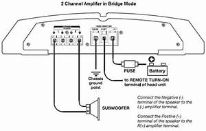 How To Bridge A Car Amp For More Power Wiring Diagram