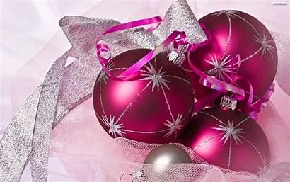 Christmas Ornament Wallpapers Purple Ornaments Desktop Background