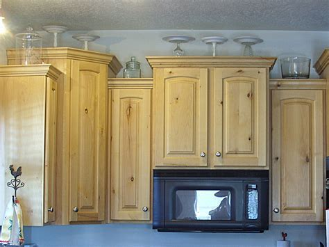 Kitchen: kitchen cabinets top decorating ideas Should You