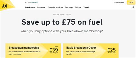 Aa Uk Breakdown Cover Discount Codes & Promotion Codes