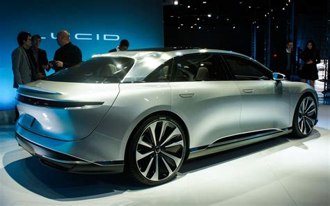 Lucid Motors Shows Off Air, An Electric Luxury Sedan