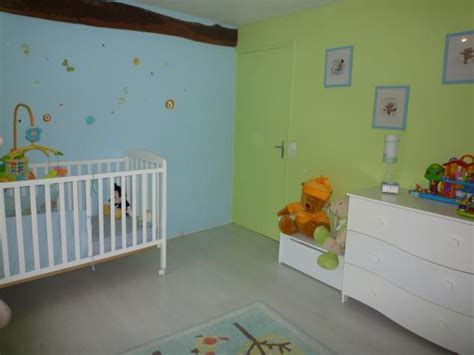 chambre mur vert chambre alessio 2 photos maeline