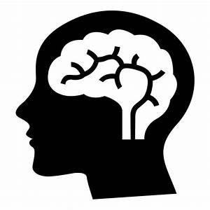 Thinking Brain Clipart Black And White - ClipartXtras