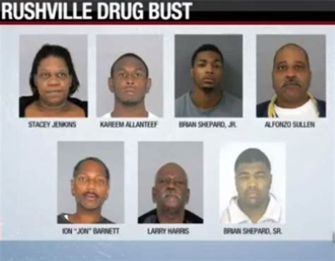 6 arrested after major bust in rushville local news greensburgdailynews