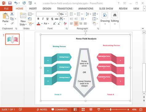 field analysis diagram template field analysis templates for pdf word and powerpoint