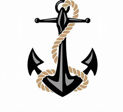 Anchor Rope Clipart Silhouette Yacht Clip Clipground
