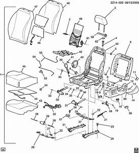 Gm Seat Belt Parts Diagram
