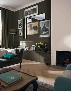 Peindre un mur en deux couleurs dynamisez vos espaces for Delightful peindre salon 2 couleurs 2 peindre un mur en deux couleurs dynamisez vos espaces