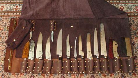 leather knife roll knife rolls order custom leather