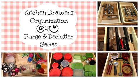 organize a kitchen kitchen drawers organization purge declutter series 1239