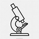 Microscope Diagram Outline Drawing Coloring Toys Clip sketch template