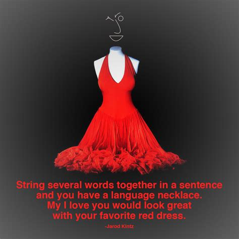 Red Dress Quotes - Oasis amor Fashion
