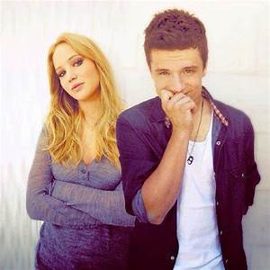 Jennifer Lawrence And Josh Hutcherson Their Hair Colors