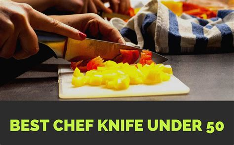knife under chef