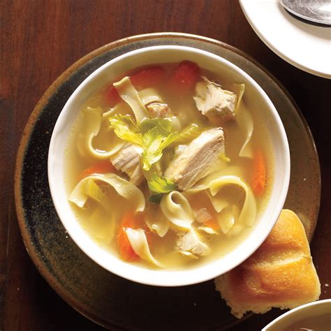 noodle soup recipe old fashioned chicken noodle soup recipe myrecipes