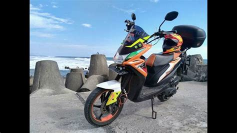 Gambar Modipikasi Beat Motor 2016 by 86 Modifikasi Motor Honda Beat Jadi Trail Modifikasi Trail