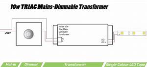 10w Triac Dimmable Transformer