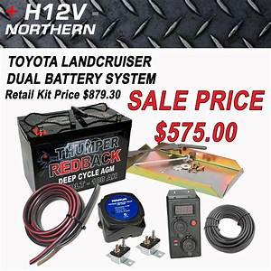 Toyota Landcruiser 100 Series Dual Battery Kit  U2013 Home Of