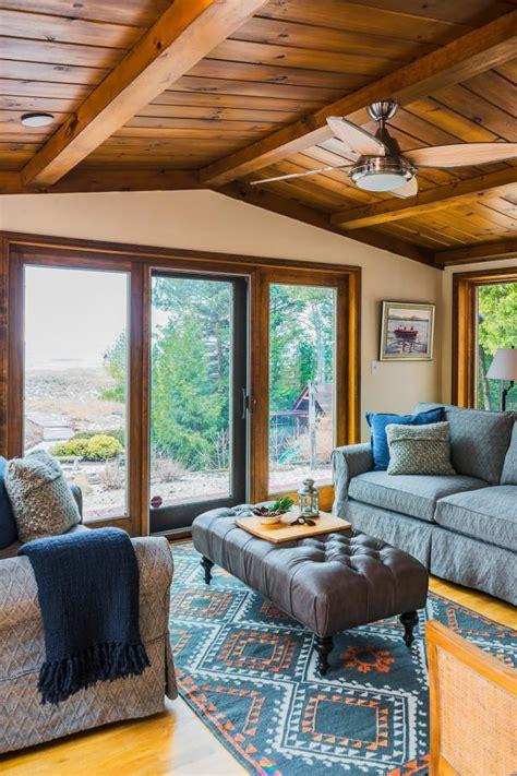 sunroom  wisconsin lake house hgtv