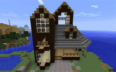 blueprints of homes contemporary cabin minecraft project