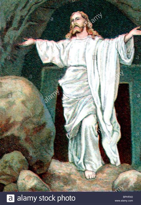 die auferstehung christi jesus ausserhalb des grabes
