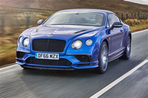bentley continental bentley continental supersports 2017 review by car magazine