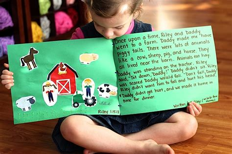 preschool story writing a activity that creates a 685 | storybook